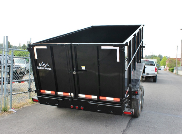 DMP48X14X14K.F. SNAKE RIVER 48 in. Tall Sided Dump Trailer from Town & Country Trailer Sales, Kent (Seattle) WA