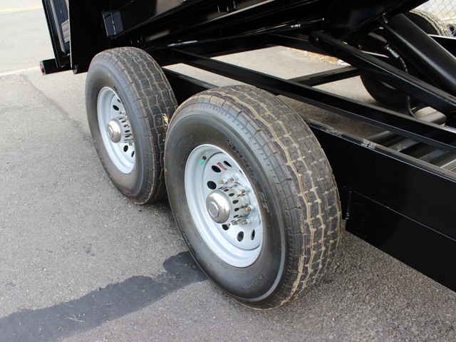 DMP48X14X14K.I. SNAKE RIVER 48 in. Tall Sided Dump Trailer from Town & Country Trailer Sales, Kent (Seattle) WA