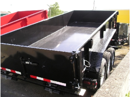 HV82X16.B. 2016 Midsota Versadump 82″ x 16′ Dump Trailer from Town and Country Commercial Trailer and Truck Sales, Kent (Seattle), WA