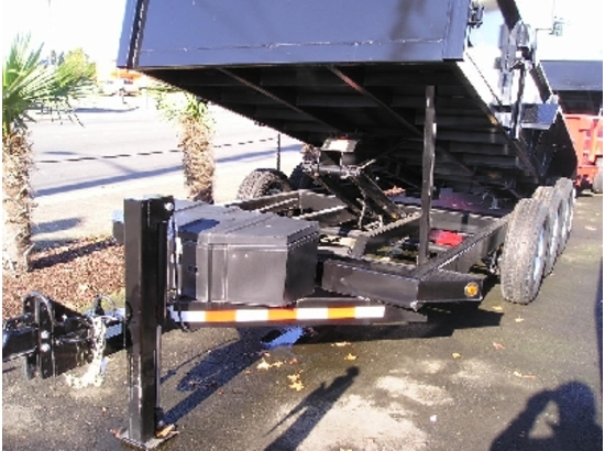 HV82X16.C. 2016 Midsota Versadump 82″ x 16′ Dump Trailer from Town and Country Commercial Trailer and Truck Sales, Kent (Seattle), WA