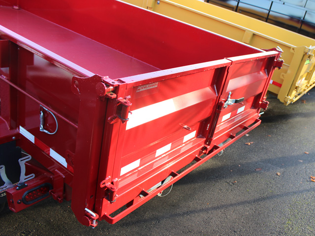 1109.B. NEW Versa HV-14 82 inch x 14 feet dump trailer from Town and Country Commercial Trailer and Truck Sales, Kent (Seattle), WA