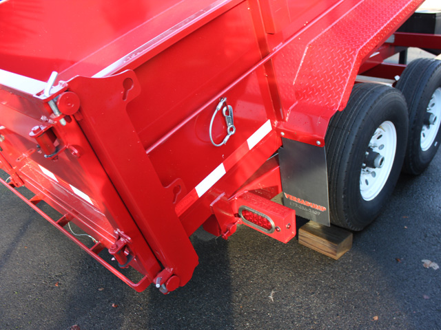 1109.C. NEW Versa HV-14 82 inch x 14 feet dump trailer from Town and Country Commercial Trailer and Truck Sales, Kent (Seattle), WA