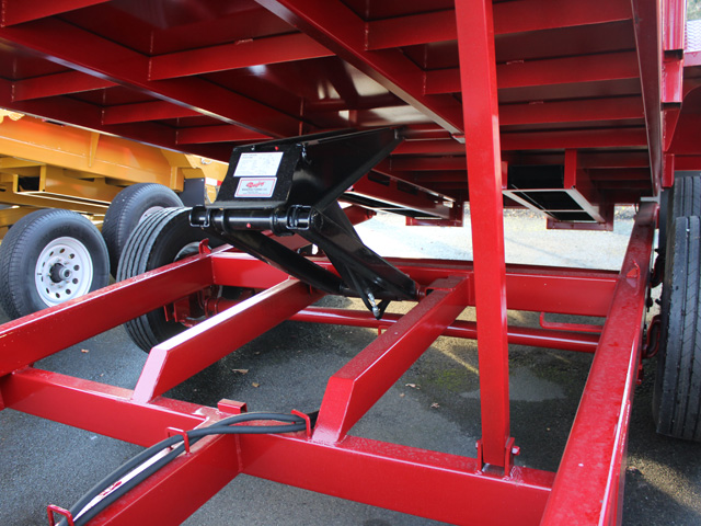 1109.D. NEW Versa HV-14 82 inch x 14 feet dump trailer from Town and Country Commercial Trailer and Truck Sales, Kent (Seattle), WA