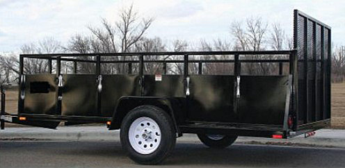 SU1. Snake River Steel Utility Trailers from Town and Country Commercial Trailer and Truck Sales, Kent (Seattle), WA