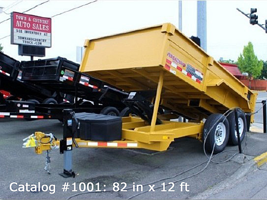 1001.A. HV Series Dump Trailers from Town and Country Commercial Trailer and Truck Sales, Kent (Seattle), WA