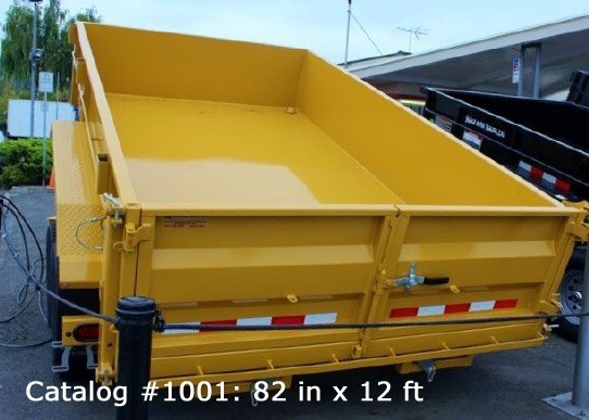 1001.B. HV Series Dump Trailers from Town and Country Commercial Trailer and Truck Sales, Kent (Seattle), WA