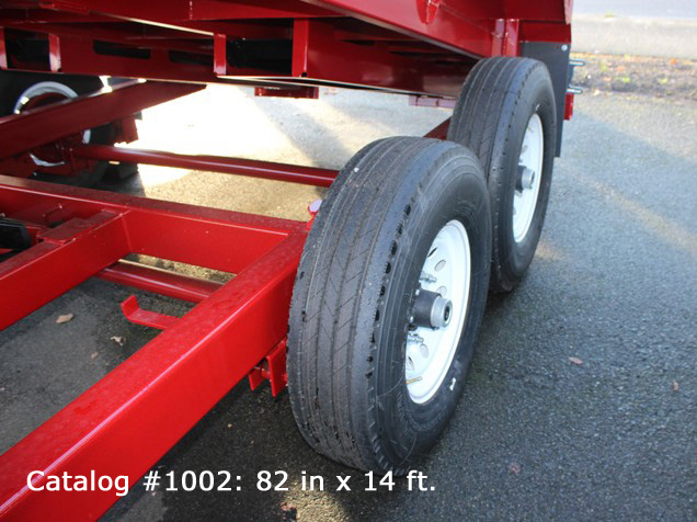 1002.G. HV Series Dump Trailers from Town and Country Commercial Trailer and Truck Sales, Kent (Seattle), WA