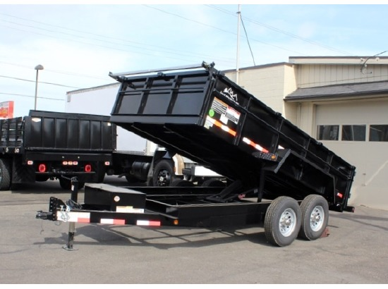 2016.M. Snake River 7 ft. Wide Dump Trailers from Town and Country Commercial Trailer and Truck Sales, Kent (Seattle), WA