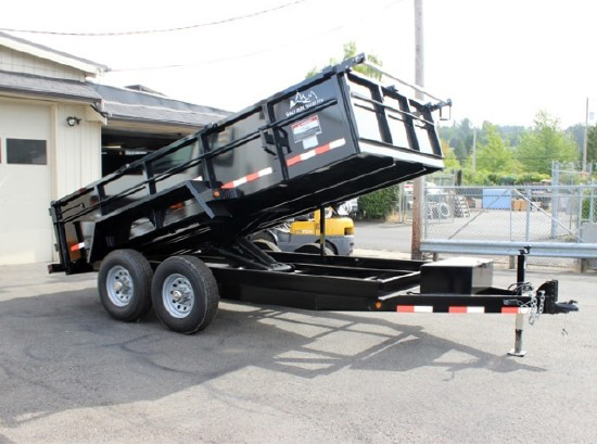 2016.N. Snake River 7 ft. Wide Dump Trailers from Town and Country Commercial Trailer and Truck Sales, Kent (Seattle), WA