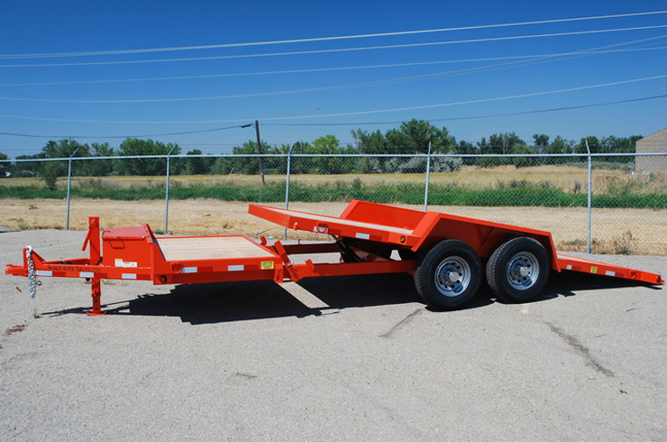 2048.A. Snake River ¾ Tilt Flatbed Trailer from Town and Country Commercial Trailer and Truck Sales, Kent (Seattle), WA