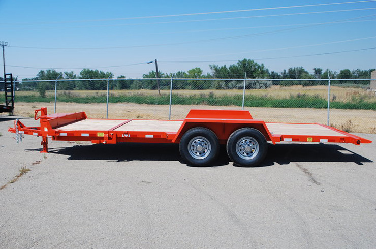 2048.B.  Snake River ¾ Tilt Flatbed Trailer from Town and Country Commercial Trailer and Truck Sales, Kent (Seattle), WA