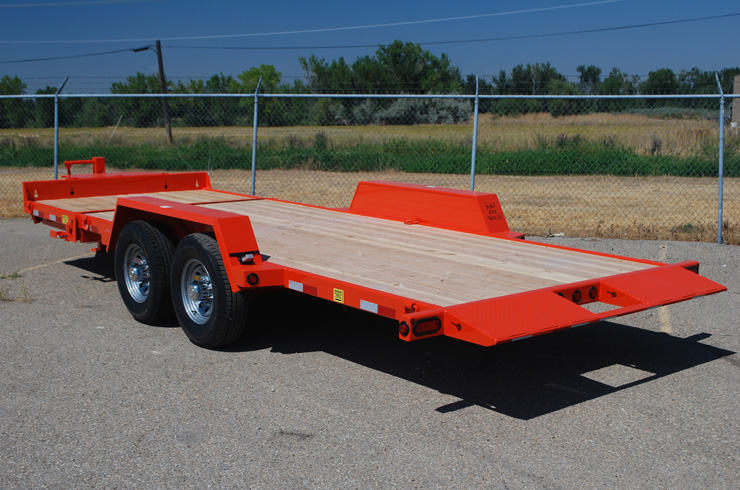 2048.I. Snake River ¾ Tilt Flatbed Trailer from Town and Country Commercial Trailer and Truck Sales, Kent (Seattle), WA