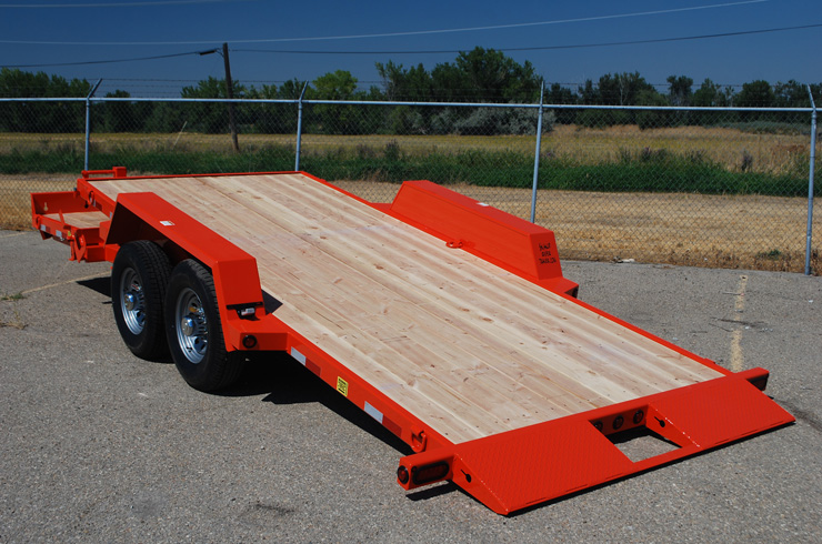 2048.J. Snake River ¾ Tilt Flatbed Trailer from Town and Country Commercial Trailer and Truck Sales, Kent (Seattle), WA