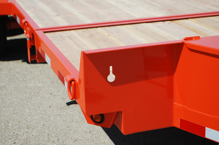 2048.M. Snake River ¾ Tilt Flatbed Trailer from Town and Country Commercial Trailer and Truck Sales, Kent (Seattle), WA