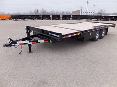 2050.B. Snake River Deck Over ¾ Tilt Flatbed Trailer from Town and Country Commercial Trailer and Truck Sales, Kent (Seattle), WA