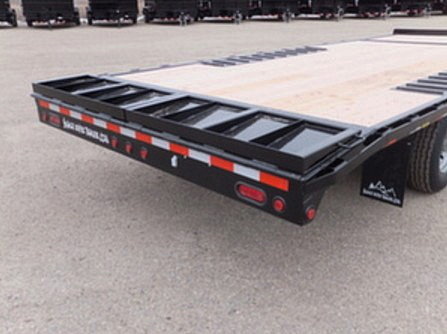 2050.E. Snake River Deck Over ¾ Tilt Flatbed Trailer from Town and Country Commercial Trailer and Truck Sales, Kent (Seattle), WA
