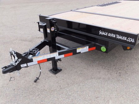 2050.G. Snake River Deck Over ¾ Tilt Flatbed Trailer from Town and Country Commercial Trailer and Truck Sales, Kent (Seattle), WA