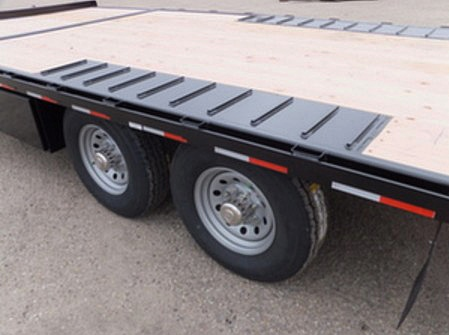 2050.H. Snake River Deck Over ¾ Tilt Flatbed Trailer from Town and Country Commercial Trailer and Truck Sales, Kent (Seattle), WA
