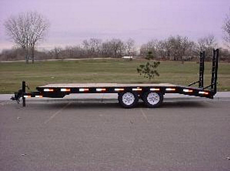 2055.A. Snake River Deck Over Equipment Flatbed Trailer from Town and Country Commercial Trailer and Truck Sales, Kent (Seattle), WA