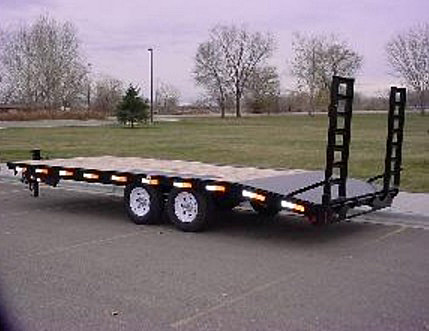 2055.D. Snake River Deck Over Equipment Flatbed Trailer from Town and Country Commercial Trailer and Truck Sales, Kent (Seattle), WA