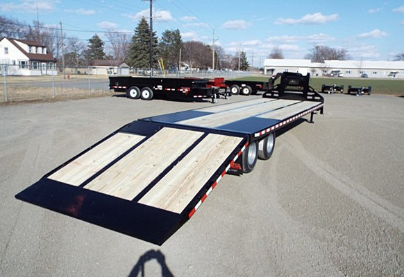 FBGN.H. FBGN Series Gooseneck Flatbed Trailers from Town and Country Commercial Trailer and Truck Sales, Kent (Seattle), WA