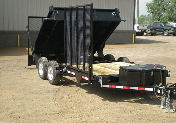 FFRD.B. Midsota HS Series Front Flat Rear Dump Trailer from Town and Country Commercial Trailer and Truck Sales, Kent (Seattle), WA