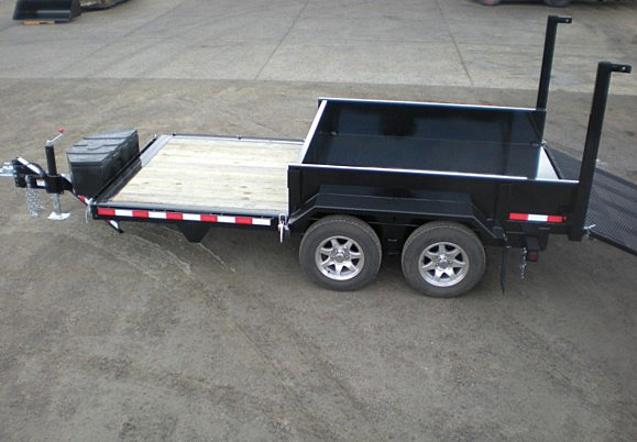 FFRD.F. Midsota HS Series Front Flat Rear Dump Trailer from Town and Country Commercial Trailer and Truck Sales, Kent (Seattle), WA