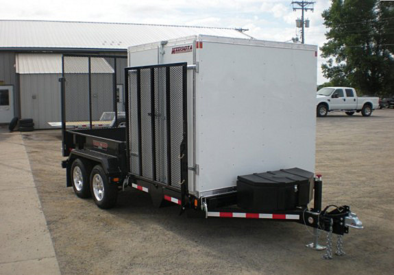 FFRD.O. Midsota HS Series Front Flat Rear Dump Trailer from Town and Country Commercial Trailer and Truck Sales, Kent (Seattle), WA