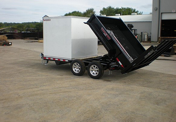 FFRD.Q. Midsota HS Series Front Flat Rear Dump Trailer from Town and Country Commercial Trailer and Truck Sales, Kent (Seattle), WA