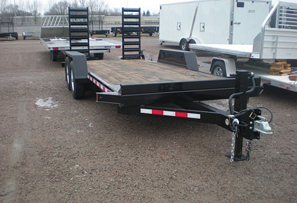 ST.B. ST Series Skid Steer Trailers from Town and Country Commercial Trailer and Truck Sales, Kent (Seattle), WA