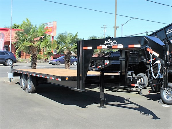 GN4. Snake River gooseneck trailers from Town and Country Truck and Trailer, Kent (Seattle) WA