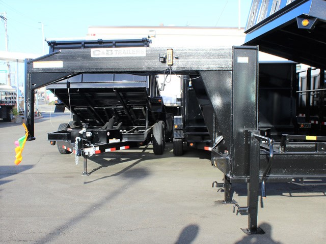 6090.D. 2006 C&B 20 ft. Tall-Sided Gooseneck Trailer from Town and Country Commercial Truck and Trailer Sales, Kent (Seattle), WA