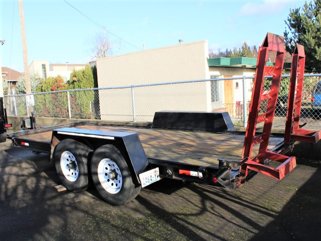 6095.D.  2001 Tow Master 16 ft. Equipment Trailer from Town and Country Commercial Truck and Trailer Sales, Kent (Seattle), WA