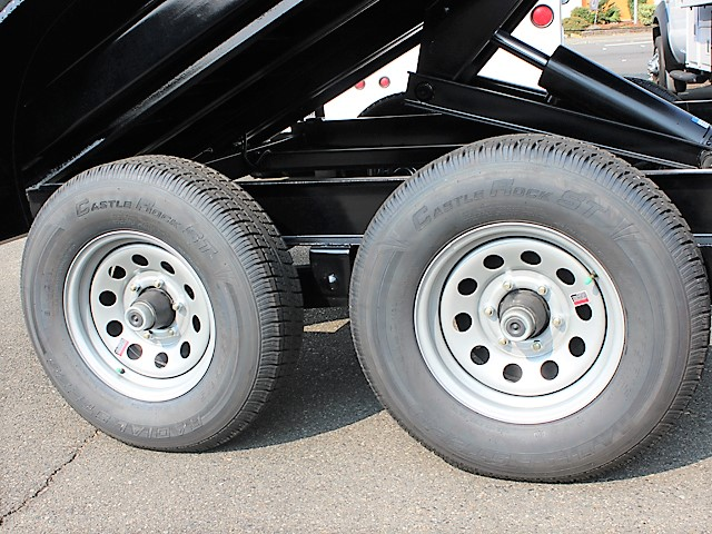 IN6FT.L. 2018 Innovative 6 ft. x 10 ft. x 30 in. tall sided dump trailer from Town and Country Commercial Truck and Trailer Sales, Kent (Seattle), WA