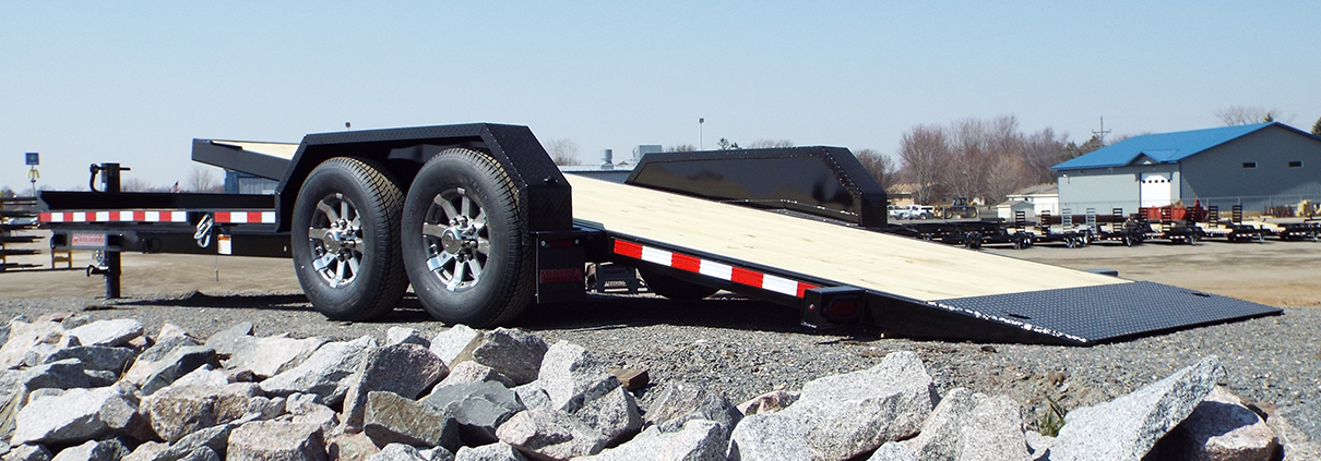 TB1. Midsota TB Series tilt bed trailers from Town and Country Commercial Truck and Trailer Sales, Kent (Seattle), WA