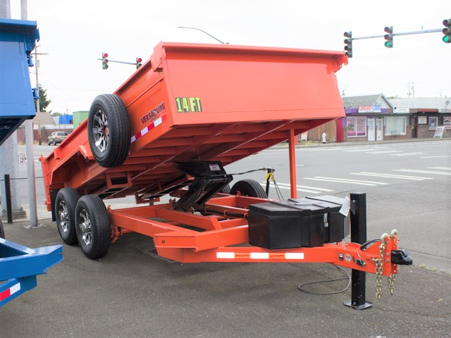 HV1. Midsota Versadump HV Series commercial grade dump trailers from Town and Country Truck / Trailer, Kent (Seattle) WA.