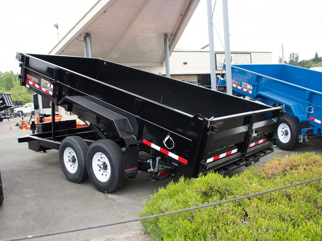 HV8. Midsota Versadump HV Series commercial grade dump trailers from Town and Country Truck / Trailer, Kent (Seattle) WA.