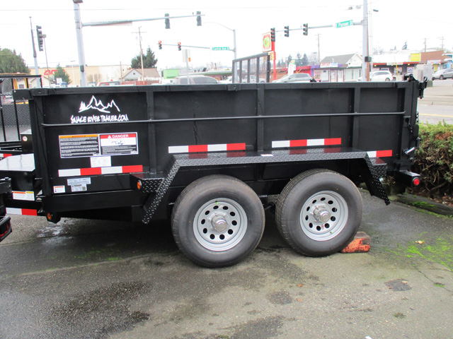 6418.C. Snake River 6 ft. x 10 Dump Trailer from Town and Country Commercial Truck and Trailer Sales, Kent (Seattle), WA.