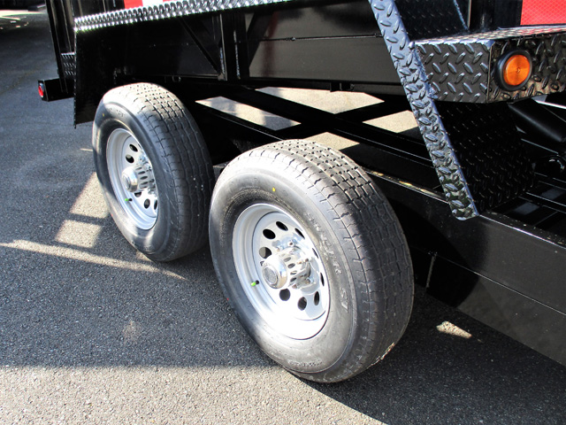 6445.K. 2020 SNAKE RIVER 7 ft. x 12 ft. x 26 in. Dump Trailer from Town and Country Truck and Trailer Sales, Kent (Seattle), WA.