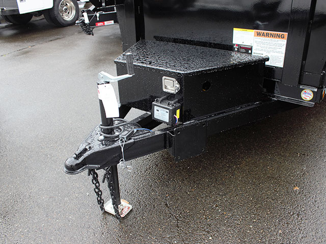 6506.B. 2021 LIBERTY 5 ft. x 10 ft. dump trailer from Town and Country Truck and Trailer Sales, Kent (Seattle), WA.