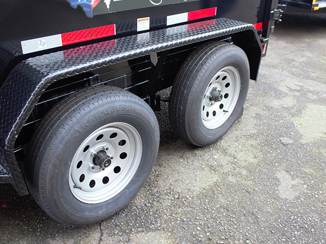 6512.G. 2021 Texas Pride 6 ft. x 10 ft. dump trailer from Town and Country Truck and Trailer Sales, Kent (Seattle), WA.