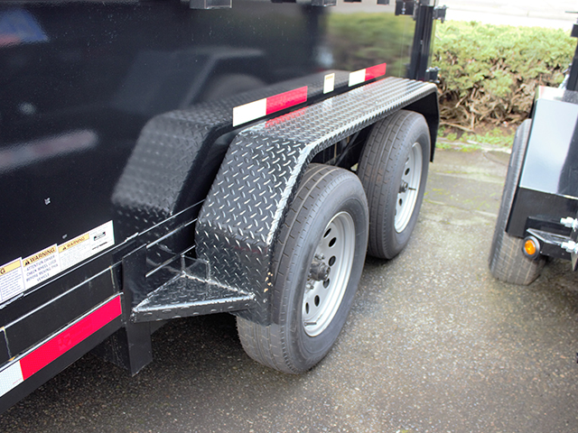 6513. G. 2021 Texas Pride 6 ft. x 10 ft. dump trailer from Town and Country Truck and Trailer Sales, Kent (Seattle), WA.