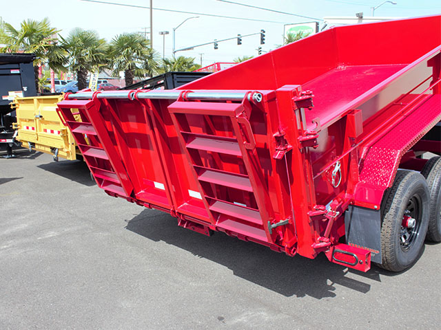 6586.H. 2021 Versadump HV-14 dump trailer trailer from Town and Country Truck and Trailer Sales, Kent (Seattle), WA.