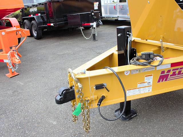 6550.D. 2021 Versadump HVHD 14 ft. Dump Trailer from Town and Country Truck and Trailer Sales, Kent (Seattle), WA.