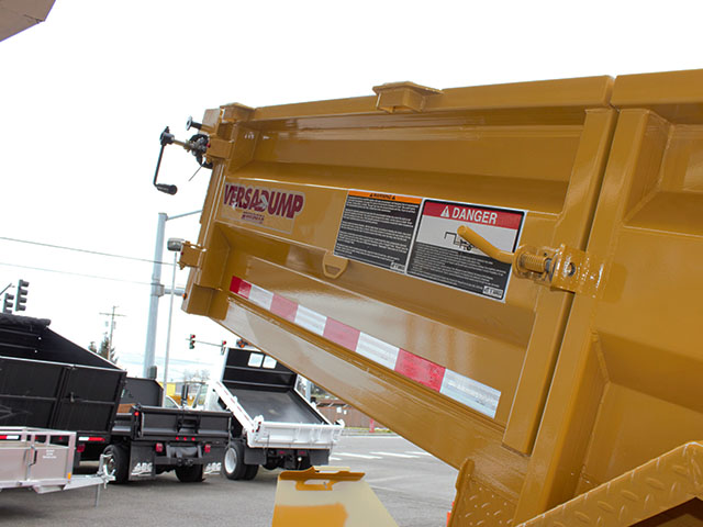 6550.K. 2021 Versadump HVHD 14 ft. Dump Trailer from Town and Country Truck and Trailer Sales, Kent (Seattle), WA.