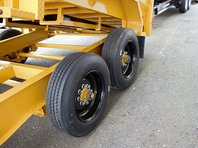 6550.P. 2021 Versadump HVHD 14 ft. Dump Trailer from Town and Country Truck and Trailer Sales, Kent (Seattle), WA.