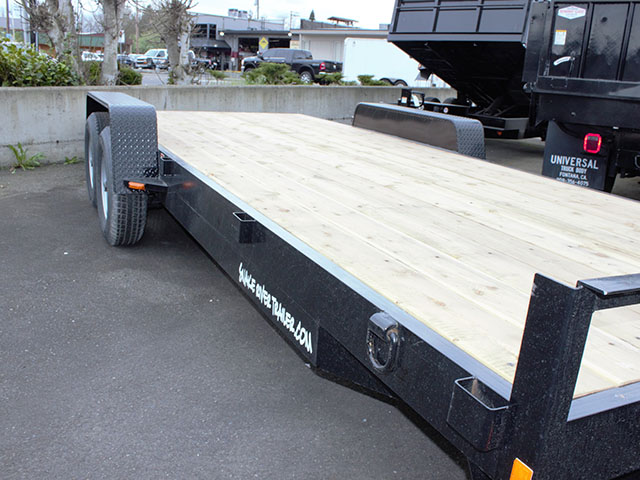 6587.F. 2021 Snake River CT 20 ft. flatbed trailer from Town and Country Truck and Trailer Sales, Kent (Seattle), WA.