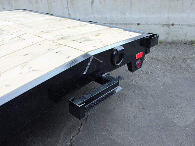 6587.G. 2021 Snake River CT 20 ft. flatbed trailer from Town and Country Truck and Trailer Sales, Kent (Seattle), WA.
