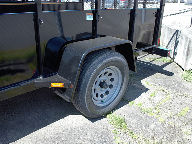 6594.E. 2021 Snake River 6 ft. x 10 ft. steel utility trailer from Town and Country Truck and Trailer Sales, Kent (Seattle), WA.