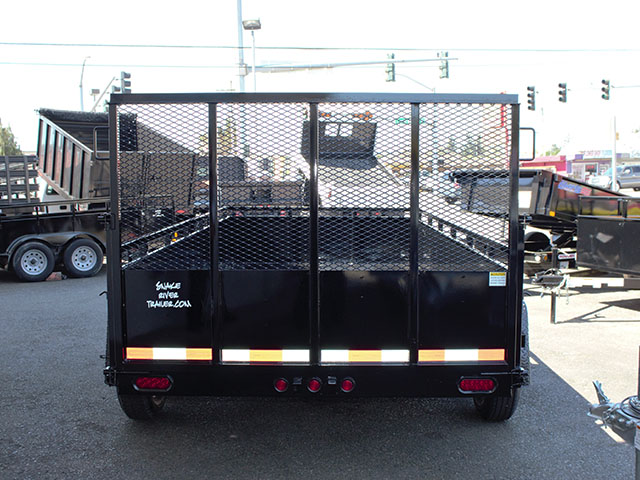 6597.I. 2021 Snake River 6 ft. x 12 ft. double axel dutility trailer from Town and Country Truck and Trailer Sales, Kent (Seattle), WA.